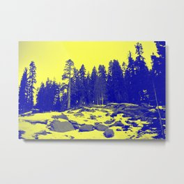 Don't Eat The Yellow Snow! Metal Print