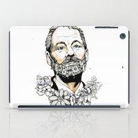 murray iPad Cases featuring Bill F***ing Murray. by ellaclawley