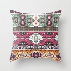 Modern Native American Pattern 3 Throw Pillow