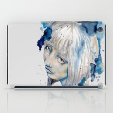 Nieves watercolor portrait by carographic iPad Case