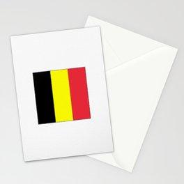 Flag of belgium-belgian,belge,belgique,bruxelles,Tintin,Simenon,Europe,Charleroi,Anvers,Maeterlinck Stationery Cards