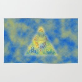 Abstract Triangle Rug