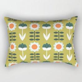 Set Sun Olive Rectangular Pillow