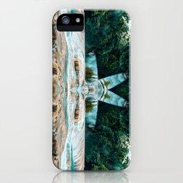 Kaleidoscape: Agua Azul iPhone Case