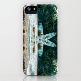 Kaleidoscape: Agua Azul iPhone Case