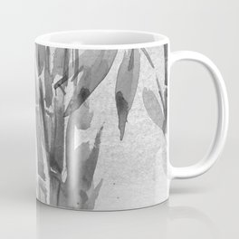 Bamboo Tree Watercolor Coffee Mug
