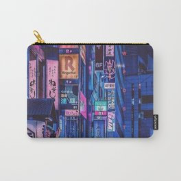 Landscape Art - Cyberpunk City Carry-All Pouch