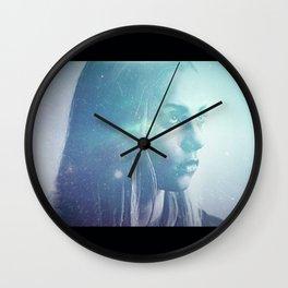 Anger At The Stars Wall Clock