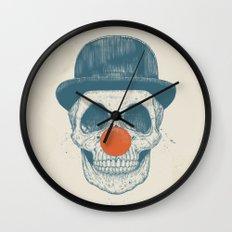 Dead clown Wall Clock