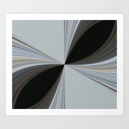 Brown and Grey Tones of Eucalyptus  Art Print