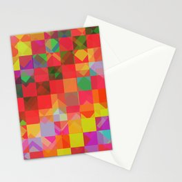 Don't be a square / Pattern Stationery Cards
