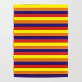 arizona flag stripes Poster