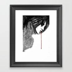 bl33d4m3 Framed Art Print