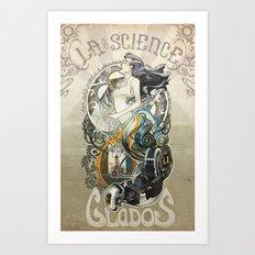 Madame la Science Art Print