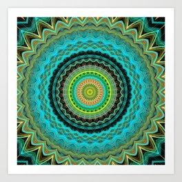 Bliss Mandala Art Print