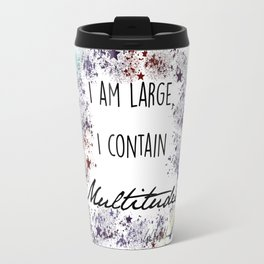 """Song of Myself"" by Walt Whitman Print Travel Mug"
