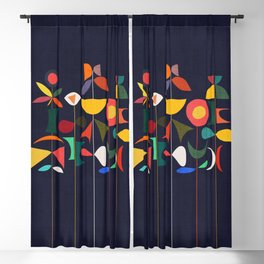 Klee's Garden Blackout Curtain
