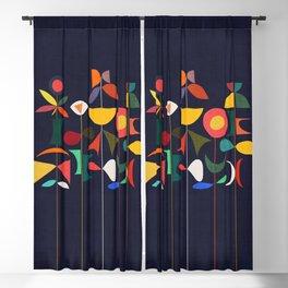 Klee's Garden Blackout Curtain