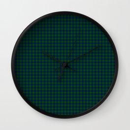 Montgomery Tartan Wall Clock