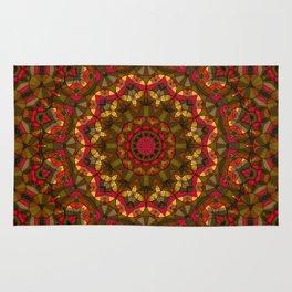 Kaleidoscope , mandala , ornament 15 Rug