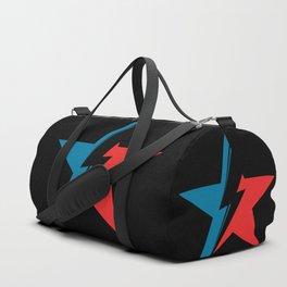 Bowie Star black Duffle Bag