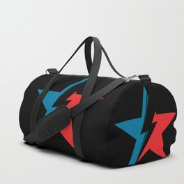 Bowie Star black Duffle Bag