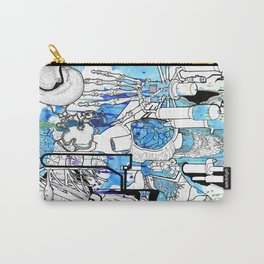 Distant Parts Carry-All Pouch