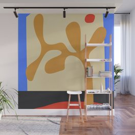 abstract minimal tree Wall Mural