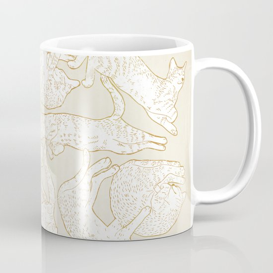 Eleven Sleepy Cat Mug