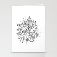 all seeing eye Stationery Cards featuring All Seeing Eye by R. Gilbert