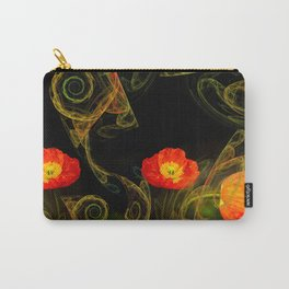 Decorative poppy Carry-All Pouch