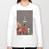 akira Long Sleeve T-shirts featuring Akira by Rafael Romeo Magat