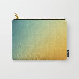 Gradient Colours: Orange Blue Carry-All Pouch