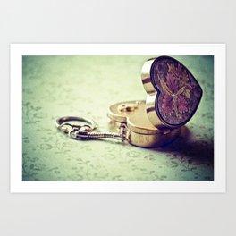 Locket of Memories... Art Print