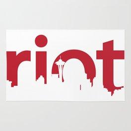 Seattle Riot | Skyline Rug