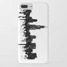 Watercolor Chicago Skyline Slim Case iPhone 7 Plus