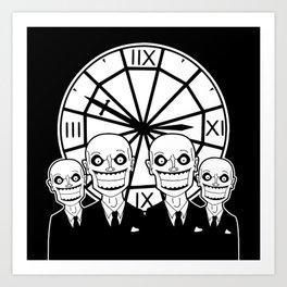 Buffy the Vampire Slayer -- The Gentlemen Art Print