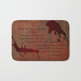 Calvary's Blood Bath Mat