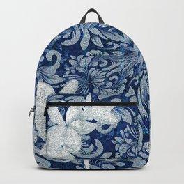 Vintage Floral Wreath Mandala Backpack