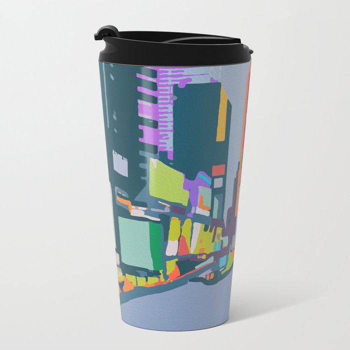 Times Square Metal Travel Mug