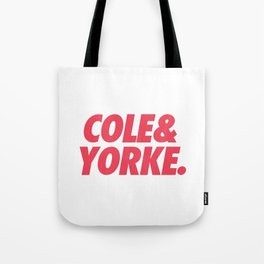 MUFC duo_ COLE & YORKE Tote Bag