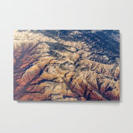 Mars or Earth Metal Print