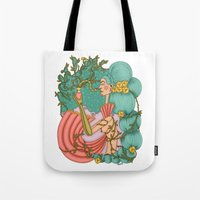 perfume Tote Bags featuring Perfume by József Vass