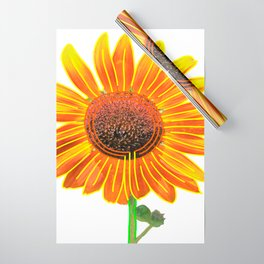 Sunflower Labyrinth (Eco Art) Wrapping Paper