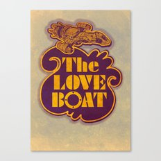The Love Boat Canvas Print