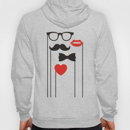 Mustaches Hoody