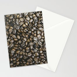 Coffee beans in Colombia Stationery Cards