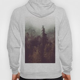 Mountain Morning Mist - Nature Photography Hoody