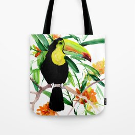 Toucan, Tropical Art, tropics Tote Bag