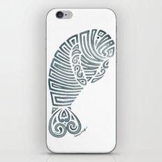 Tribal Manatee iPhone Skin